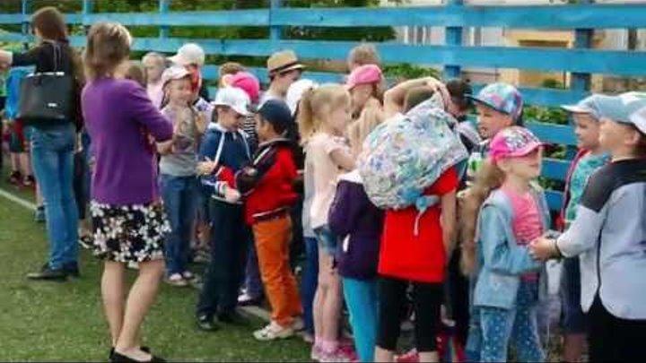 Пришкольный лагерь Краснодонской городской гимназии 2016