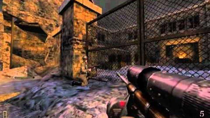 Скоростное прохождение Return to Castle Wolfenstein Fastest walkthrough ever 36 58