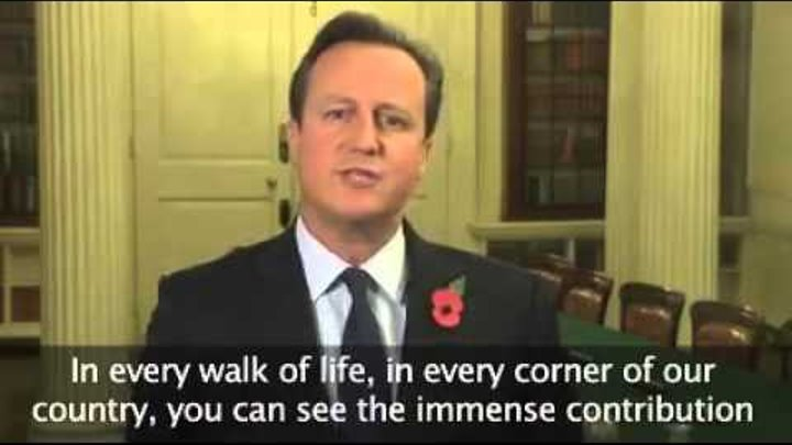 UK Prime Minister Diwali Message 2015