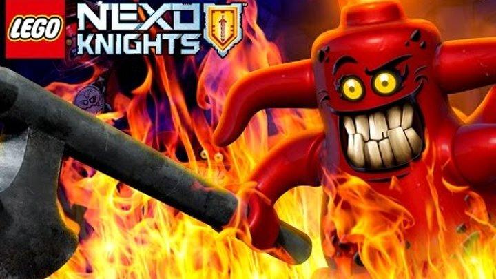 Lego Nexo Knights Merlok 2.0 на русском языке. Прохождение игры Лего Нексо Найтс. Кока Плей