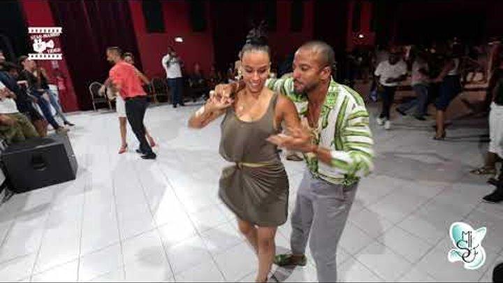 Maykel Fonts & Sylvia Chapelli - social dancing @ Martinique Int 'Salsa Festival 2018
