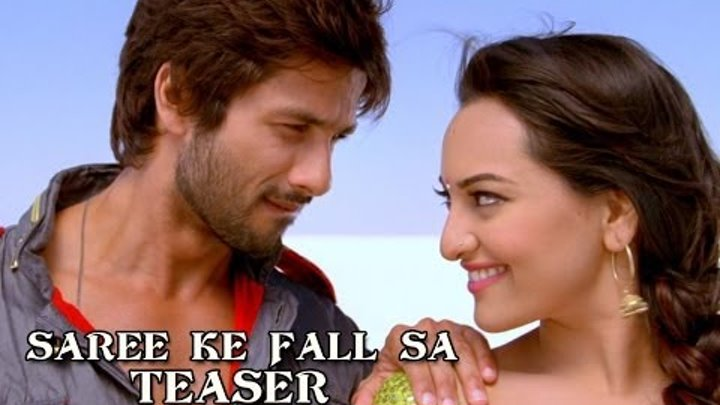 Saree Ke Fall Sa Song Teaser ft. Sonakshi Sinha & Shahid Kapoor - R...Rajkumar