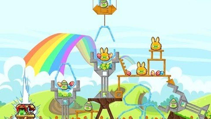 Angry Birds Friends Tournament Level 5 Week 100 Power Up Highscore Walkthrough | April 14th 2014