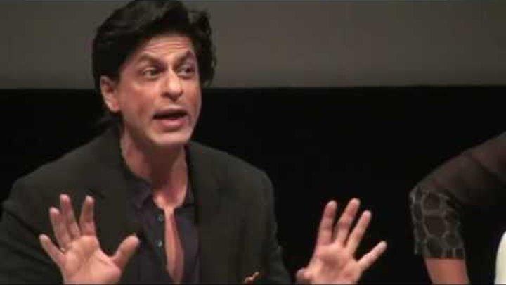 Shahrukh Khan Dubai Film festival talks about Don 2 and smoking on screen