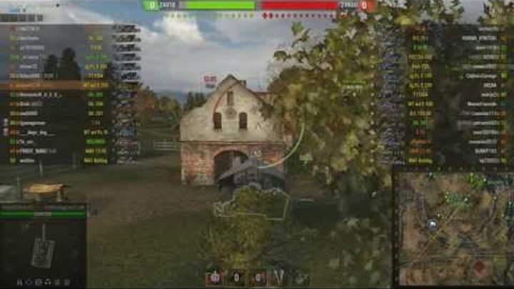 worldoftanks тест новой озвучки бой на Waffenträger auf E 100