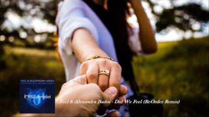 Feel & Alexandra Badoi Did We Feel (ReOrder Remix)