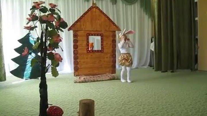 """Театральная постановка сказки """"Лиса, заяц и петух"""""""""""