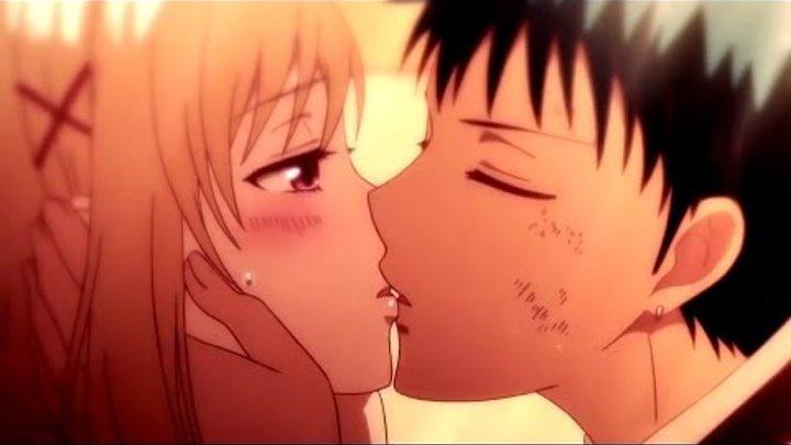Аниме клип о любви - Давай убежим туда, где не будет никого ... (Аниме романтика + AMV + Anime mix)
