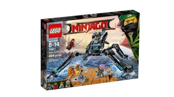 Конструктор LEGO The Ninjago Movie - Водяной робот (70611)