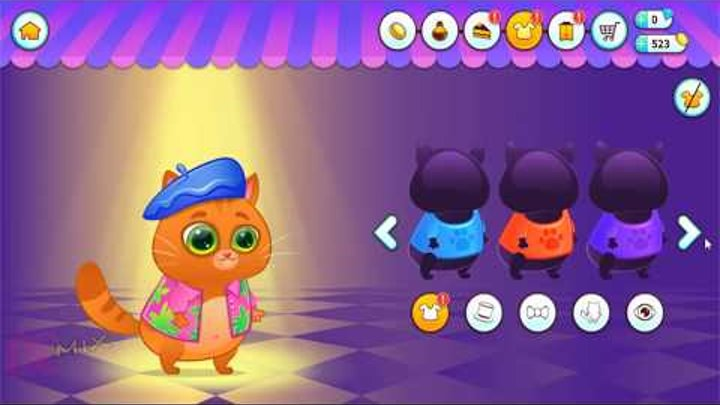 Котенок Бубу [3]. Мой виртуальный котик. Мультик игра для детей. Bubbu My Virtual Pet