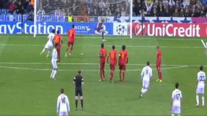 Gareth Bale Amazing Goal Real Madrid vs Galatasaray