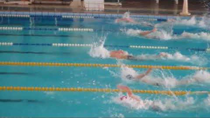 Третий заплыв вольный стиль 50 м