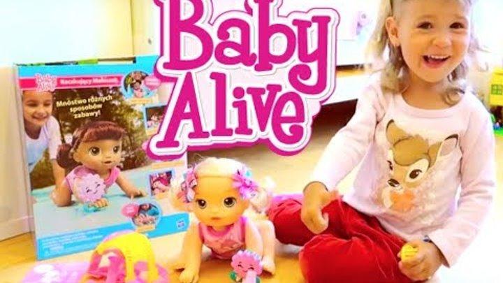 Кукла Baby Alive Doll Беби Элайф и Беби Бон Распаковка Новая Кукла у Ариши