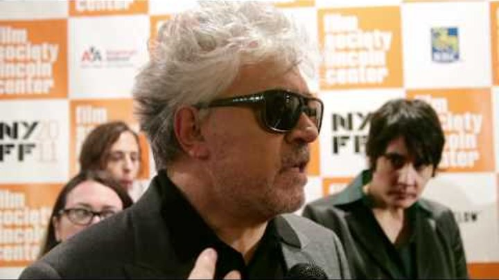 Pedro Almodóvar at the 49th New York Film Festival