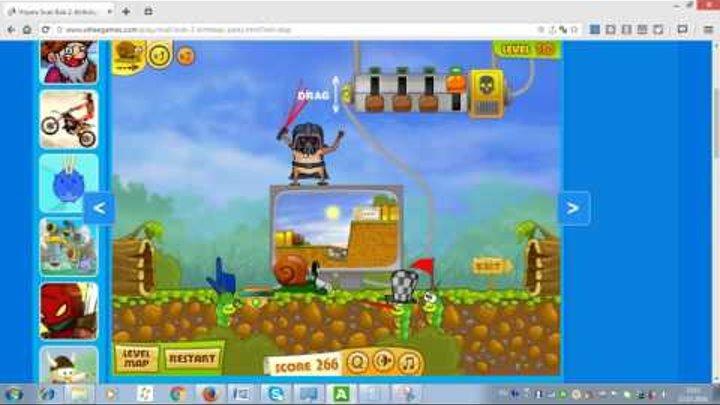 Развивающий мультик для малышей Улитка Боб Прохождение игры