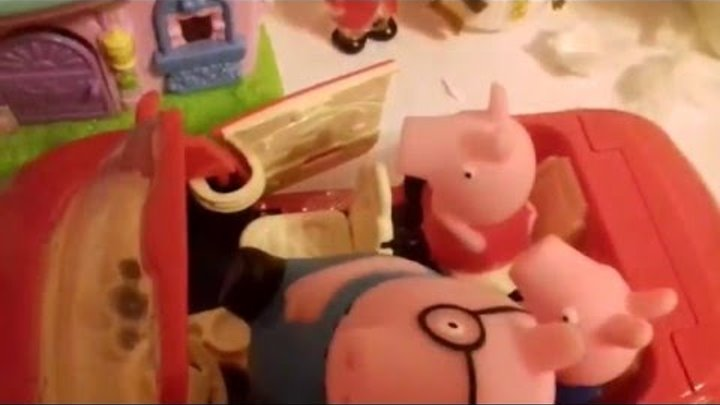 Свинка Пеппа (Peppa Pig) мультик игрушками новая серия. Семья пеппы.