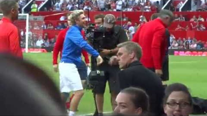 Soccer Aid 5/6/16 Niall being lifted (somewhere towards the end the rest is crap sorry)