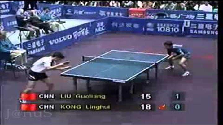 1995 WTTC (MS-Final) KONG Linghui Vs LIU Guoliang [Full* Match/Chinese]