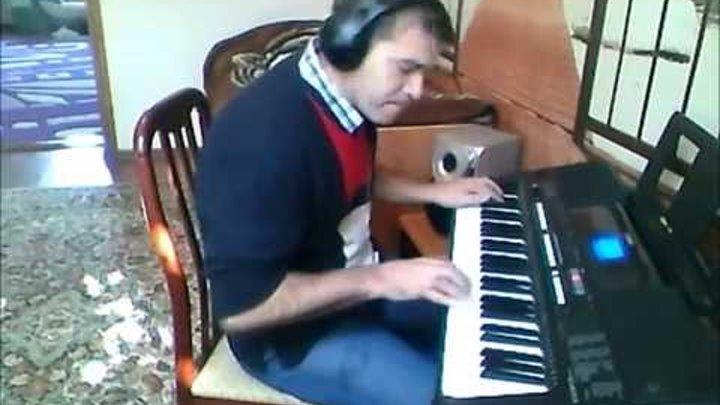 YAMAHA PSR E 433 Musik by Naplekov Andrey. Своё сочинение.