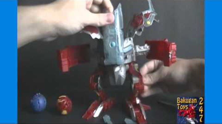 Unboxing and Reviewing Bakugan Dragonoid Destroyer Mechtanium Surge Figure