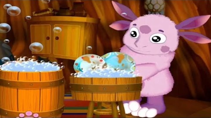 Лунтик Учится Мыть Посуду.Мультик Игра про Лунтика и его Друзей