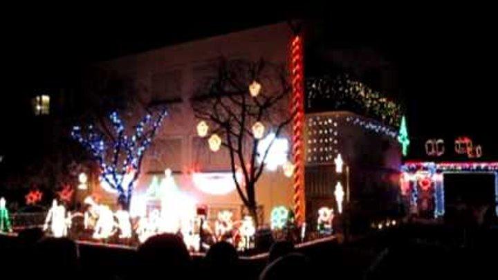 Haus Weihnachtsbeleuchtung.Weihnachtsbeleuchtung Mit Musik Haus Loben Markdorf 2009
