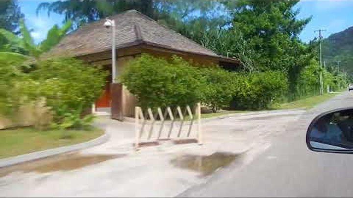 Сейшелы, Индийский океан, поездка по острову Маэ (левостороннее движение)
