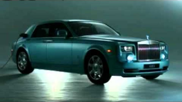 ► NEW 2012 Rolls-Royce Phantom 102EX Electric at GENEVA 2011