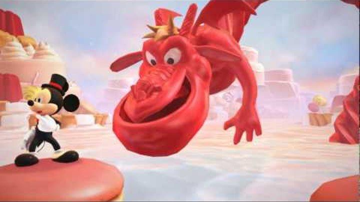 Микки Маус и Замок Иллюзий часть 4. Мультфильм про игру.
