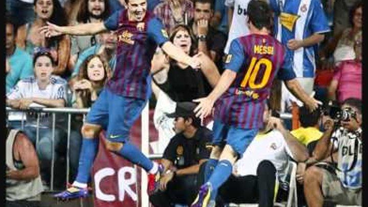 Real Madrid vs FC Barcelona [2:2] 14.08.2011 All Goals & Full Match Highlights SuperCopa 2011