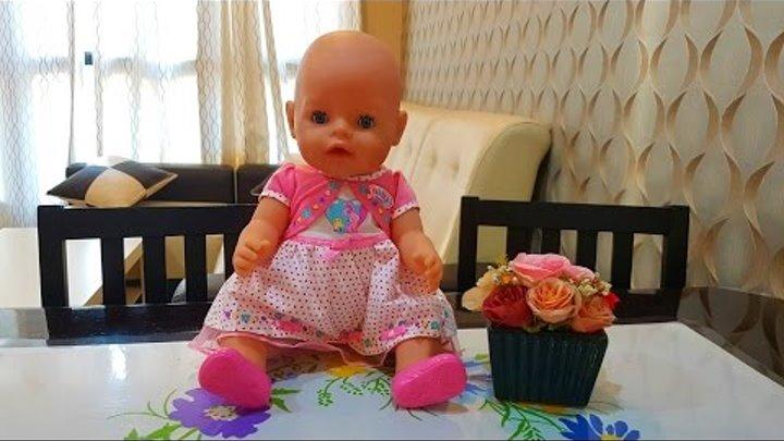 Новая кукла БЕБИ БОН распаковка BABY BORN