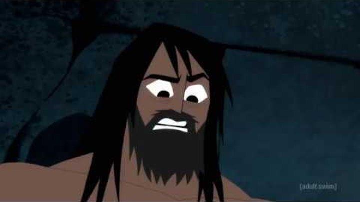 Samurai Jack Season 5 episode 2 - Tomb Scene