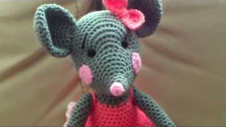 амигуруми схема мышки игрушки вязаные крючком