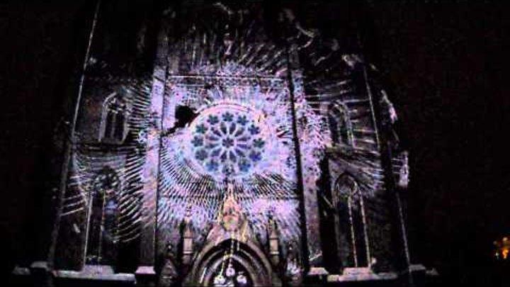 SIGNAL - Prague Light Festival, Khôra--The Macula - 2. díl, Kostel sv. Ludmily, nám. Míru, P-2