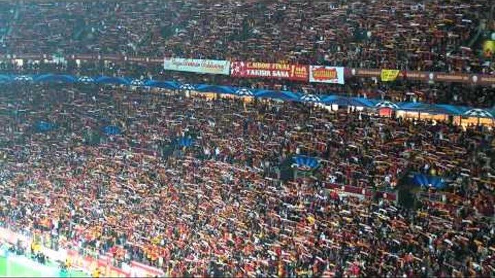 Galatasaray-Real Madrid İntikam Marşıyla Ali Sami Yen Yıkılıyor. Tarih 9 Nisan 2013