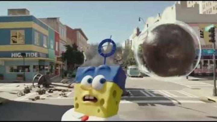 Губка Боб в 3D 2015 Трейлер мультфильм