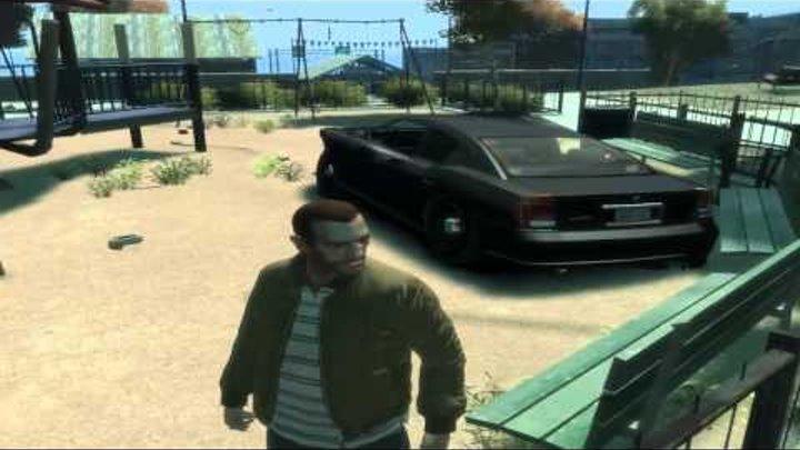 GTA 4 - Приколы и Баги.mp4