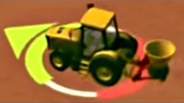 МАЛЕНЬКИЙ ФЕРМЕР. Игры на планшет: Обзор. Развивающий мультик про трактор - Сеем Урожай