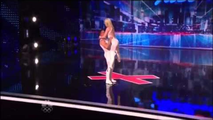 New York Audition (Donovan and Rebecca) Day 2 ~ season 7 America's Got Talent 2012