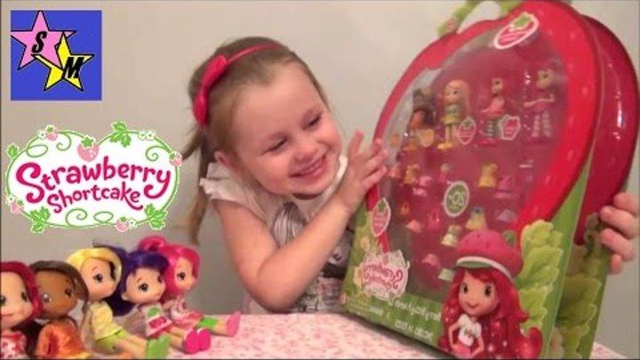 Игровой набор кукол Шарлотта Земляничка Ягодный Гардероб Strawberry Shortcake Berry Wardrobe