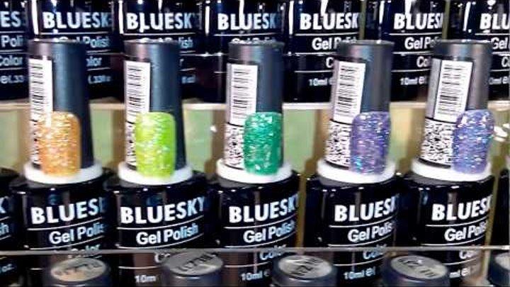 Палитра гель лаков BLUESKY серии BLZ цвета № 01-60, 10 мл.