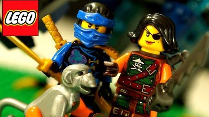 Lego Ninjago 2016. Лего Ниндзяго 70602 Дракон Джея. Мультики для Детей. Обзор на русском языке