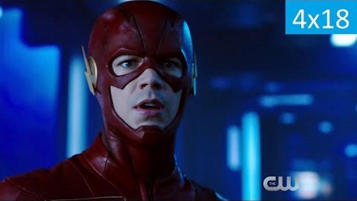 Флэш 4 сезон 18 серия - Русский Трейлер/Промо (Субтитры, 2018) The Flash 4x18 Trailer/Promo