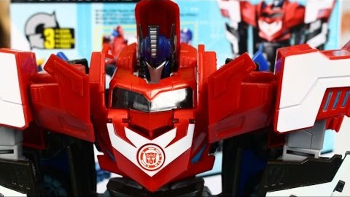 Mega Optimus Prime / Мега Флип Оптимус Прайм - Robots in Disguise - Transformers 4 - Hasbro - B1564