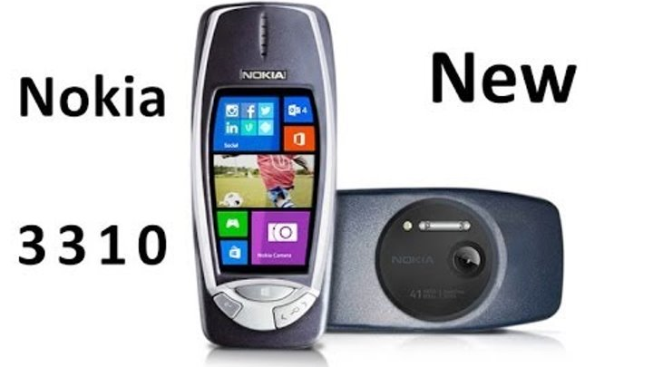 Nokia 3310 new 2014 with 41 Megapixel camera and Windows Phone 8