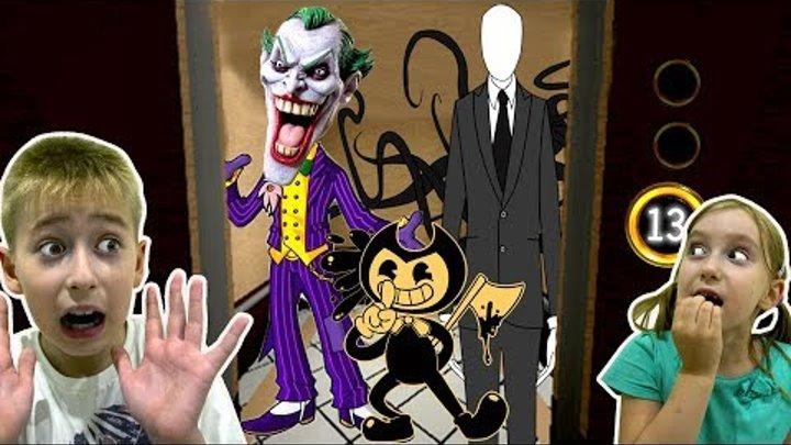 Никогда не Играй в Страшную Игру в 3 Часа Ночи Ужасный Лифт РОБЛОКС Мультик Страшилка для Детей