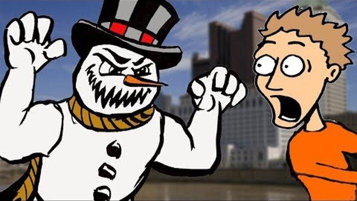 Смешные Страшные Снеговик Шутки Сезон 1 Эпизод 13