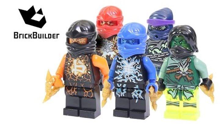 Lego Ninjago Airjitzu Minifigures Collection Brickbuilder