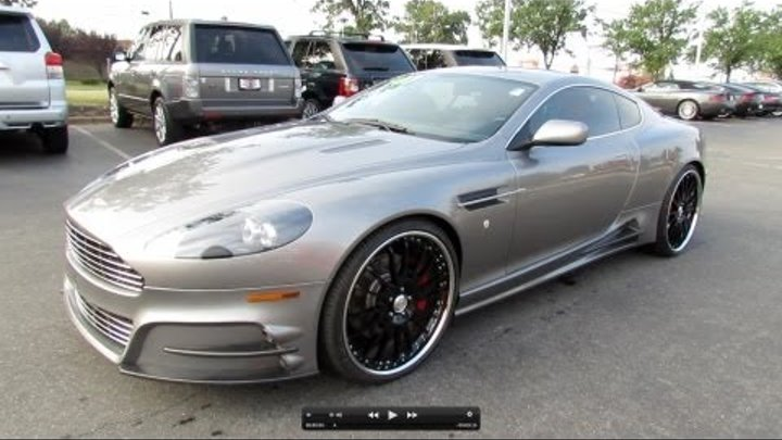 2007 Aston Martin DB9 Mansory 6-spd Start Up, Exhaust, and In Depth Review