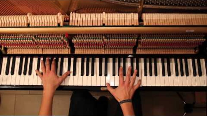 Ludovico Einaudi - Fly - Intouchables Piano Cover FAST VERSION (medium)